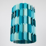 Facet-Pop Danish art light designed by Louis Weisdorf for Lyfa, 1970s