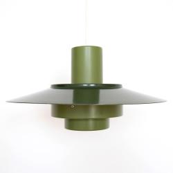 Green Falcon pendant light by Andreas Hansen for Fog & Morup, 1960s