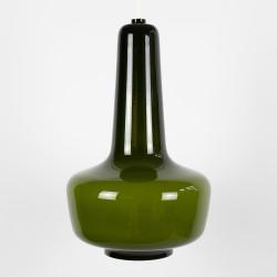 Kreta cased glass pendant lamp by Jacob E Bang for Fog & Mørup, 1960s