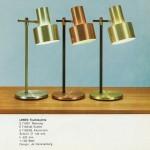 Lento table/desk lamp by Jo Hammerborg for Fog & Mørup, 1960s