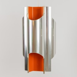 Space-age Danish Pantre art light designed by Bent Karlby for Lyfa, late 1960s