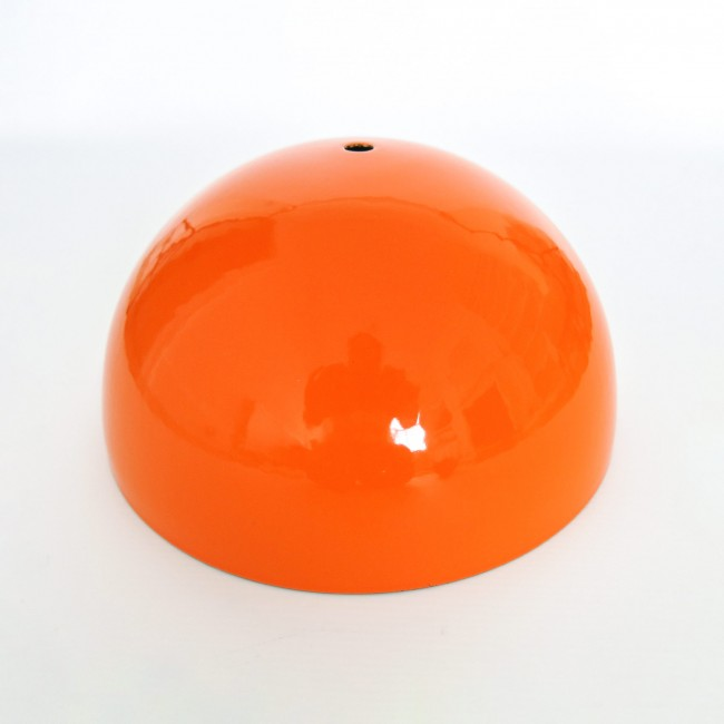Flowerpot main section in orange Verner Panton for Louis Poulsen 1960s