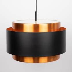 Saturn pendant light by Jo Hammerborg for Fog & Morup, 1960s