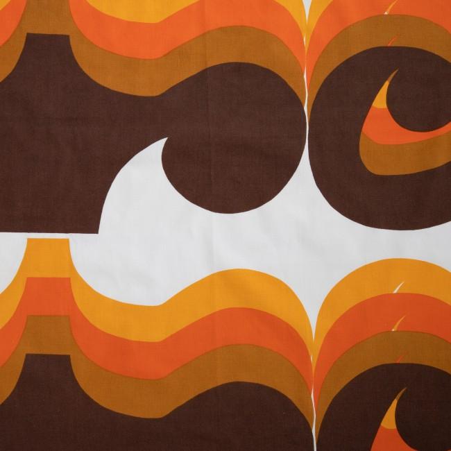 Barbara Brown for Heals original 1960s Omega fabric valance/pelmet cover