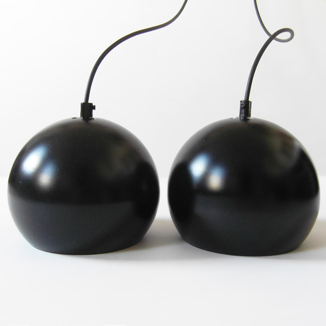 Black Horn Belysning ball pendant lights