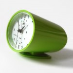 1960s space-age retro Ballerup Calor clock
