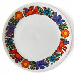 Villeroy & Boch Acapulco rim-patterned plate