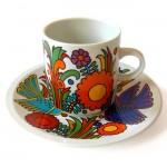 Villeroy & Boch Acapulco cup & saucer duo
