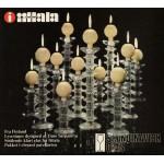 Two Iittala Festivo candleholders by Timo Sarpaneva