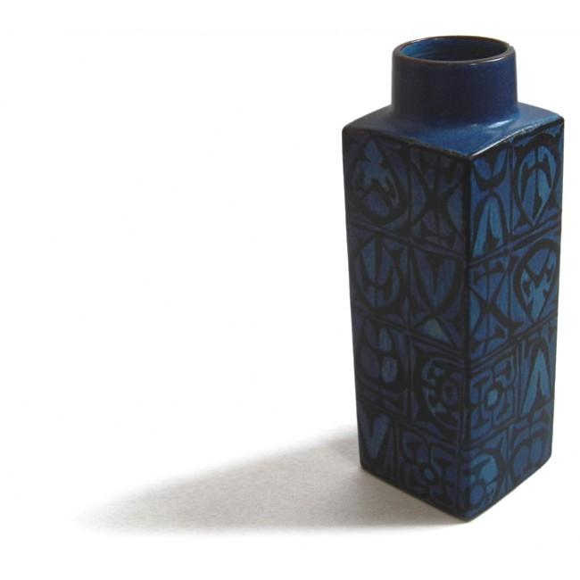 Nils Thorsson Royal Copenhagen Aluminia Baca vase