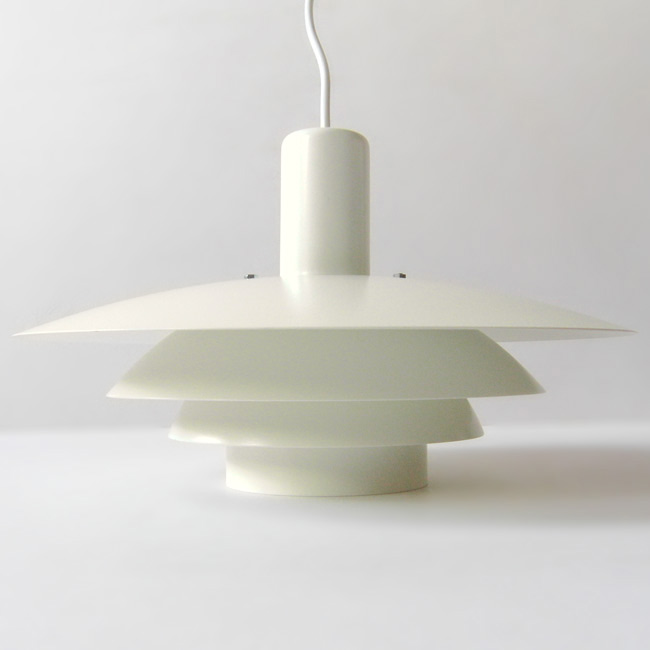 Danish multi-layered pendant light by Horn A/S