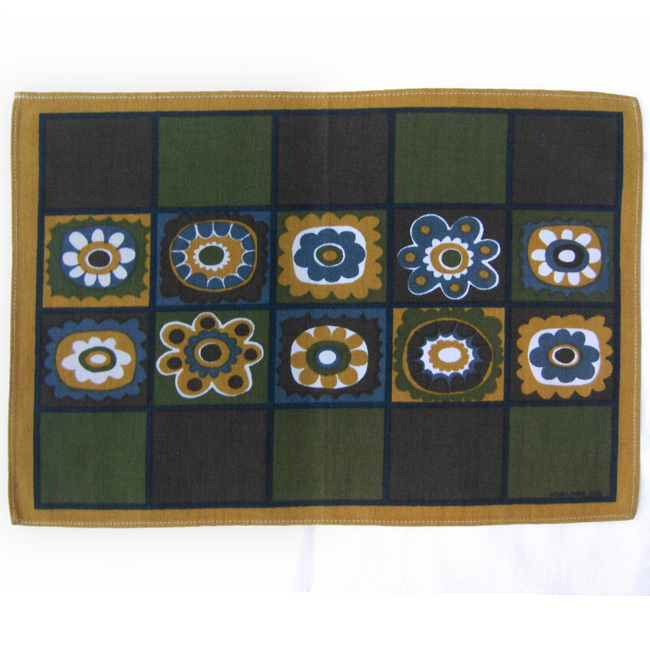 Vintage retro atomic placemats by Jorunn Jo Norway