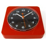 1960s/1970s red plastic Kienzle wall clock
