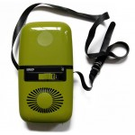 Late 60 s or early 70 s avocado green Philips hairdryer