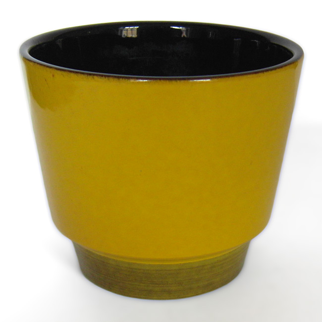 Vintage ceramic planters by Knabstrup Denmark