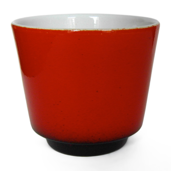 Vintage 60s/70s Danish red ceramic planter