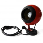 Moda vintage red eyeball spotlight wall lamp
