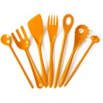 Egg-yolk yellow Rosti melamine kitchen utensils
