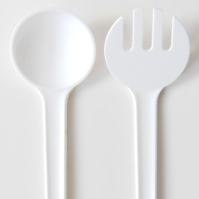 Salad servers by Jørgen Møller for Torben Ørskov & Co