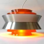 Retro 1960 s-1970 s Carl Thore multi-layer light