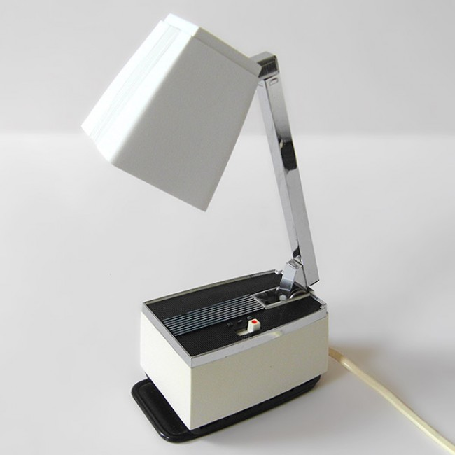 Vintage 1960s Solo work lamp by HBH of Denmark