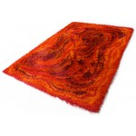 Ege Rya rug with Munch-like psychedelic design