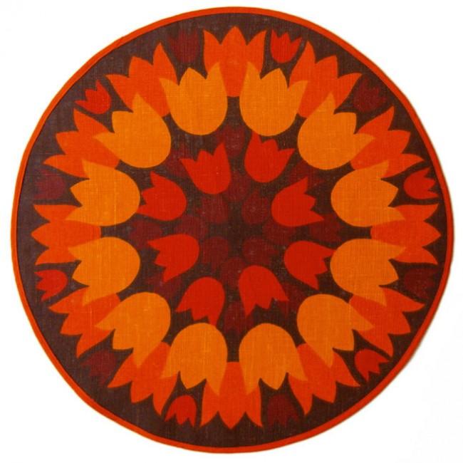Hessian tablecloth by Sodahl Design of Denmark