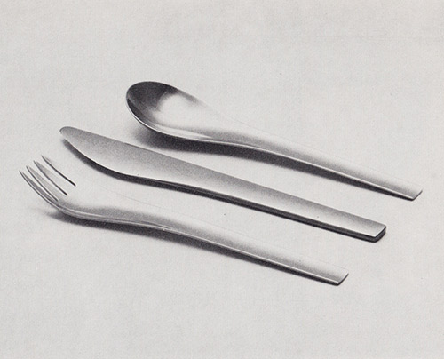 Svend Suina's Blue Shark cutlery for Georg Jensen