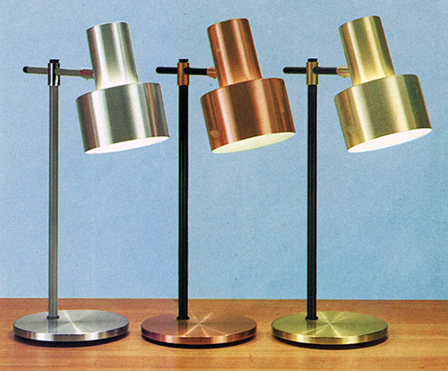 Fog Mørup brass copper aluminium finishes