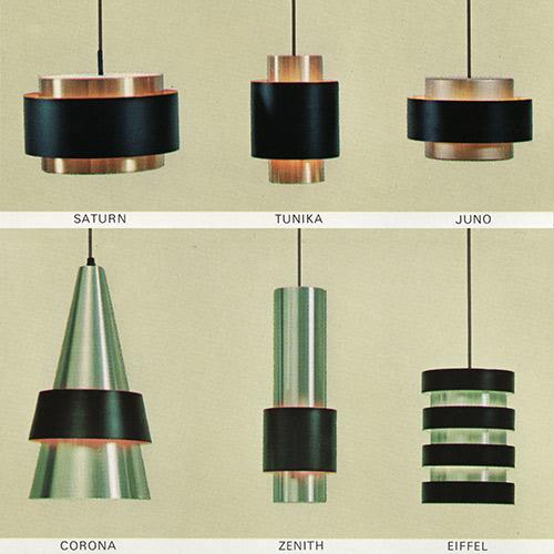 Jo Hammerborg Fog Morup Saturn Tunika Juno Corona Zenith Eiffel