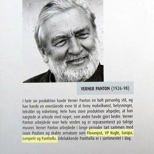 Verner Panton Louis Poulsen LamPetit