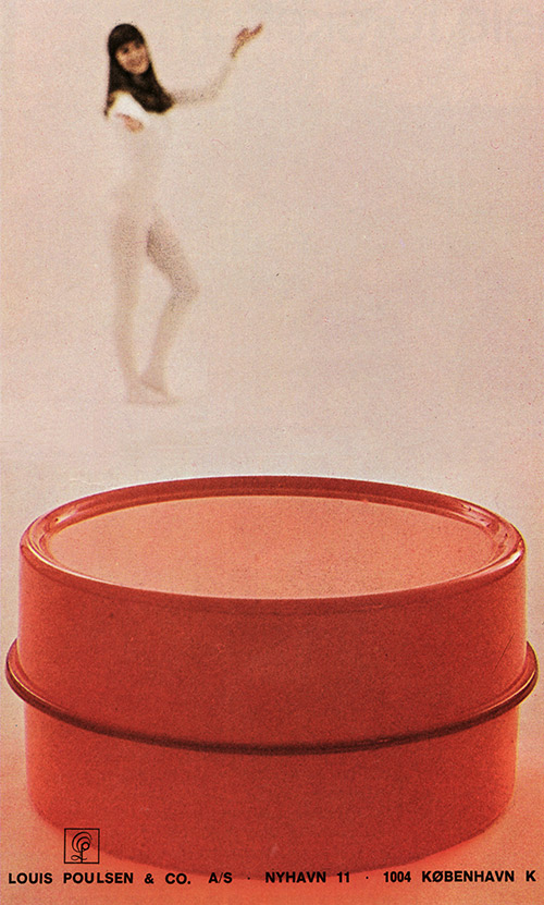 Poulsen Panton light table
