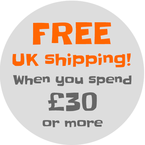 Free UK shipping over £30